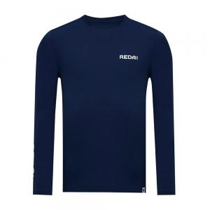 Camiseta de Pesca Performance Redai Clean Marinho