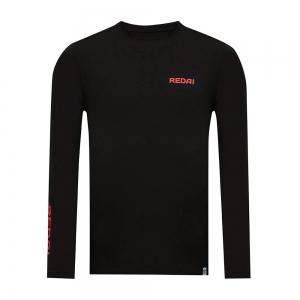 Camiseta de Pesca Performance Redai Clean Preto