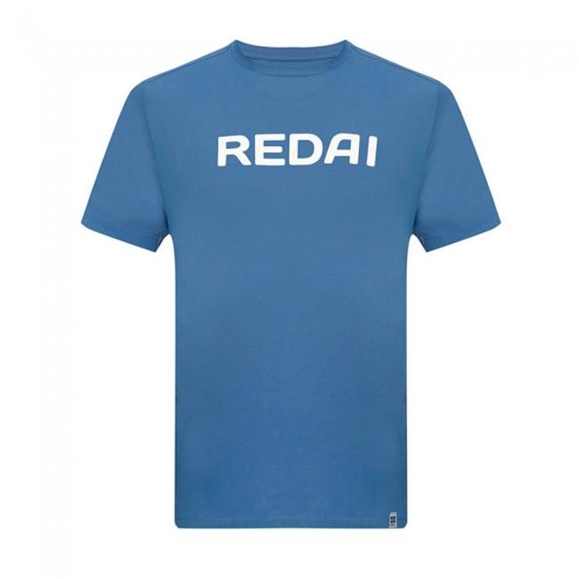 Camiseta de Pesca Performance Redai Team Azul Manga Curta