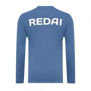 Camiseta de Pesca Performance Redai Team Azul Manga Longa