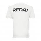 Camiseta de Pesca Performance Redai Team Branco Manga Curta