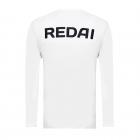Camiseta de Pesca Performance Redai Team Branco Manga Longa